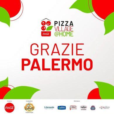Palermo, grande successo del Coca Cola Pizza Village @Home