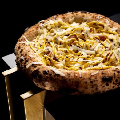 """La ricetta della """"Pizza Carbonara"""" di Pier Daniele Seu"""